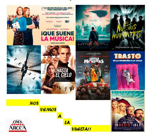 """Arcca Cine """"NOS VAMOS DE VACACIONES"""""""